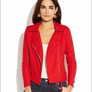 EUC Lucky Brand Addisyn Red Moto Jacket